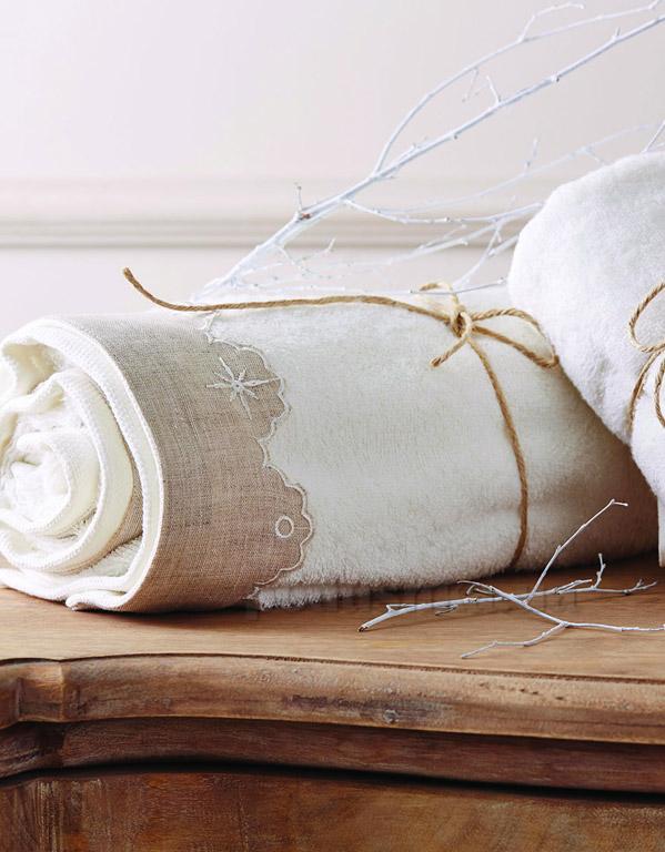 Набор махровых полотенец Karaca Becky