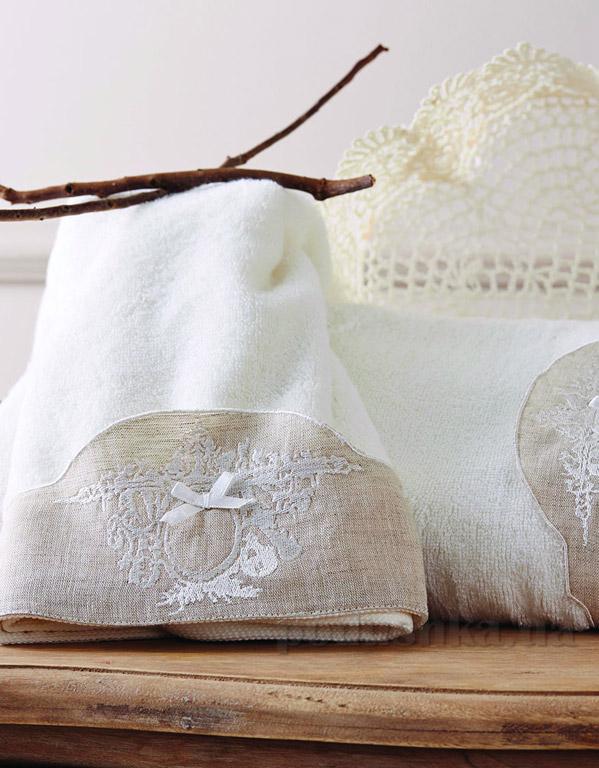 Набор махровых полотенец Karaca Clara