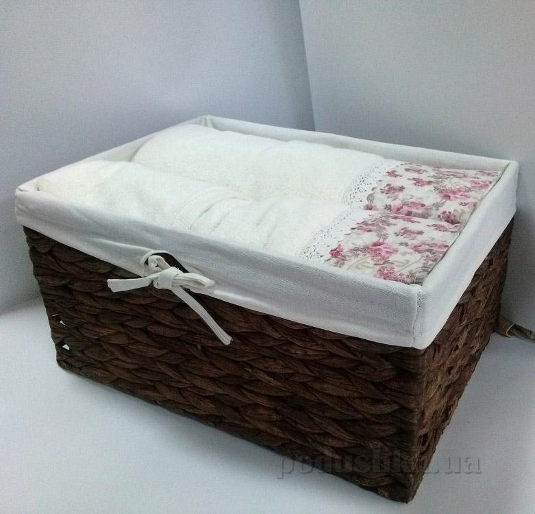 Набор махровых полотенец Karaca Emily бежевый 4 шт