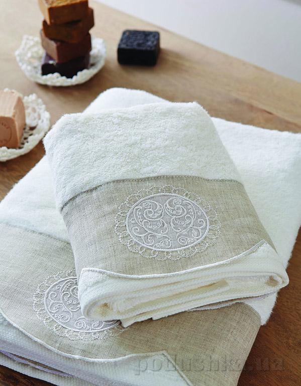 Набор махровых полотенец Karaca Zac