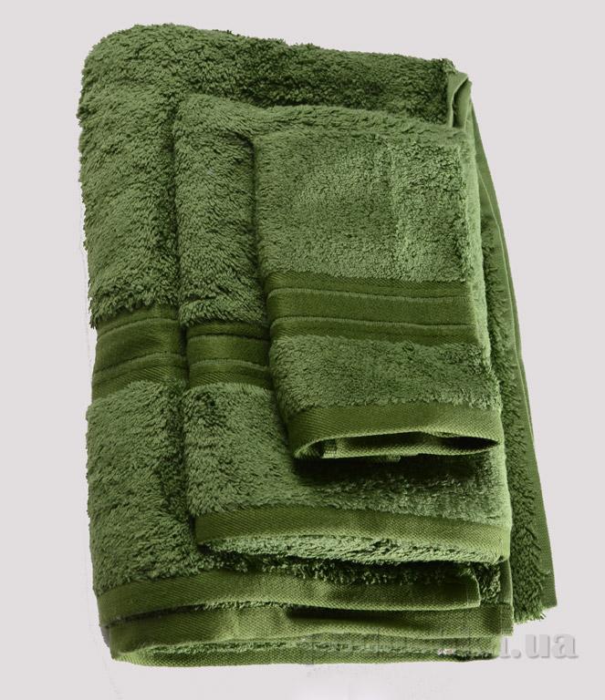 Набор махровых полотенец Land's end зелёный