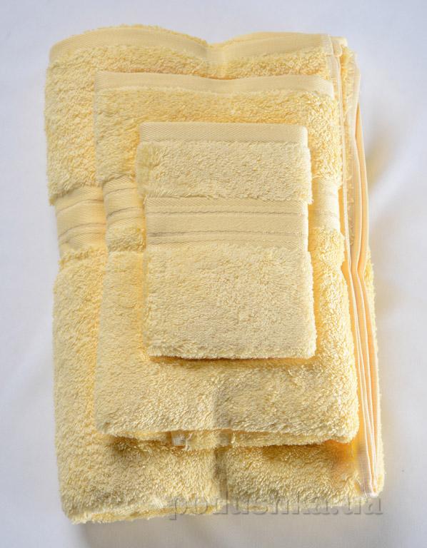 Набор махровых полотенец Land's end желтый