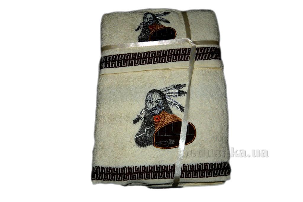 Набор махровых полотенец Mariposa Индеец 3 шт