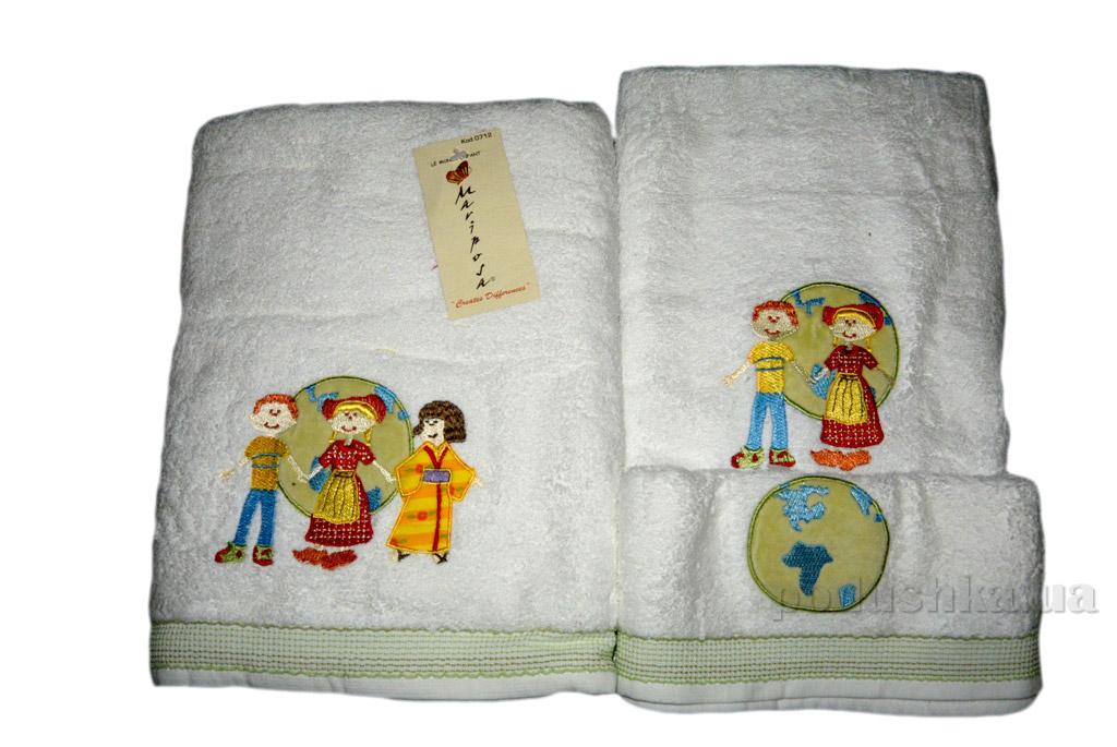 Набор махровых полотенец Mariposa Мир 3 шт
