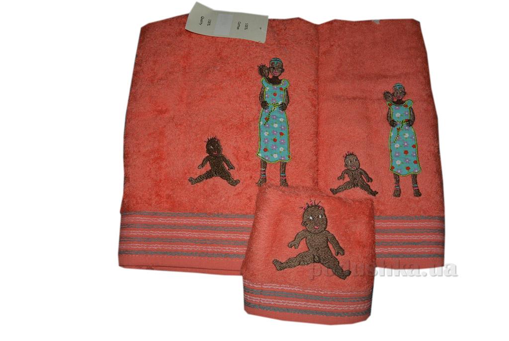 Набор махровых полотенец Mariposa Племя 3 шт