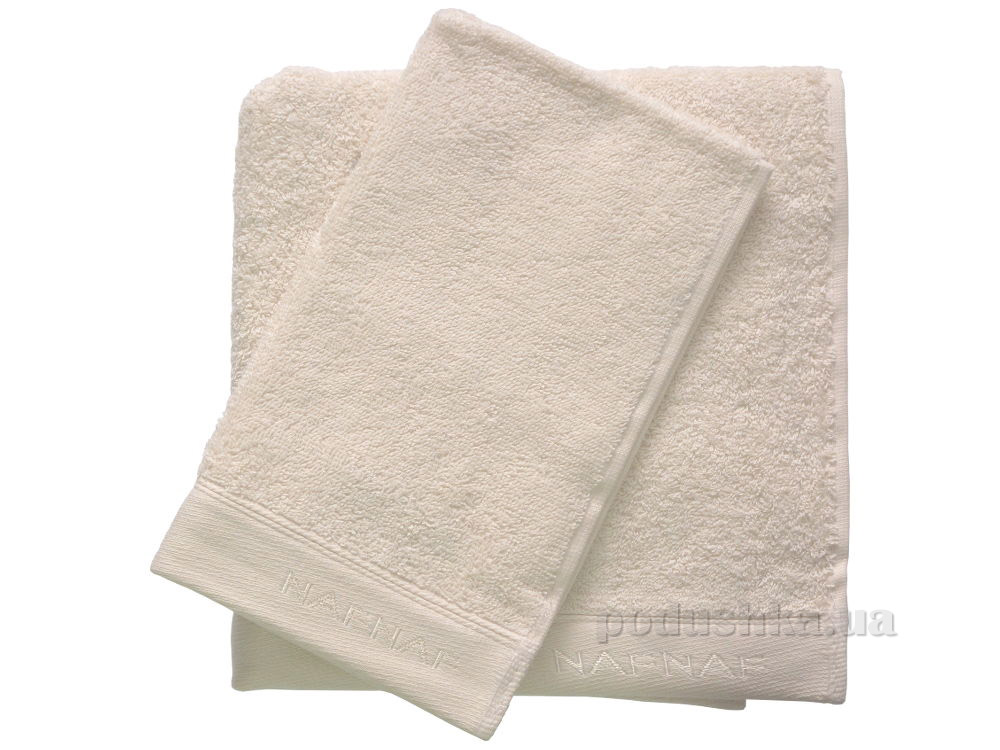 Набор махровых полотенец Naf Naf Casual 12230 кремовый