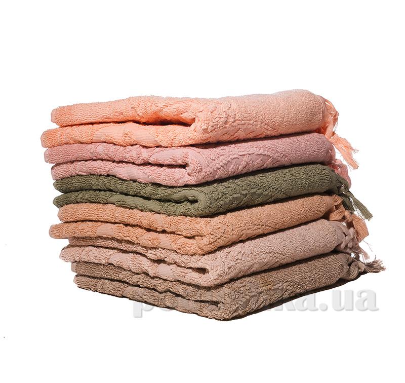 Набор махровых полотенец с бахромой Izzihome S. Hitit
