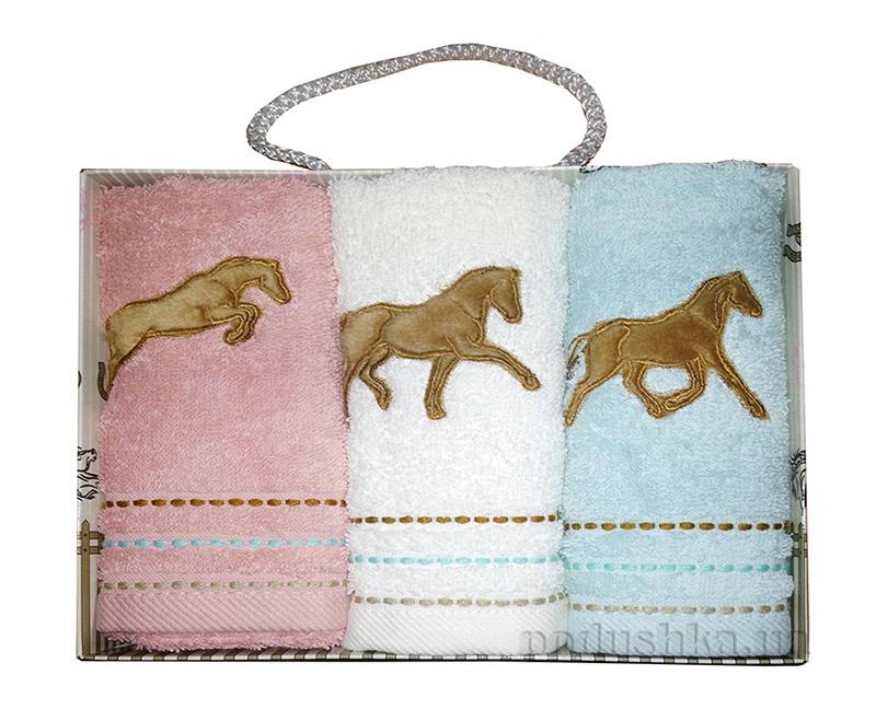 Набор махровых полотенец в коробке Altinbasak Рысаки