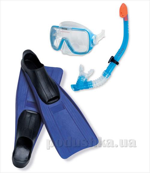Набор маска, трубка, ласты Intex 55958