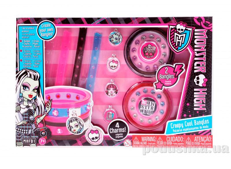 Набор Monster High Браслеты cерии Сделай сама MHFB1 Creepy Cool Bangles Mattel