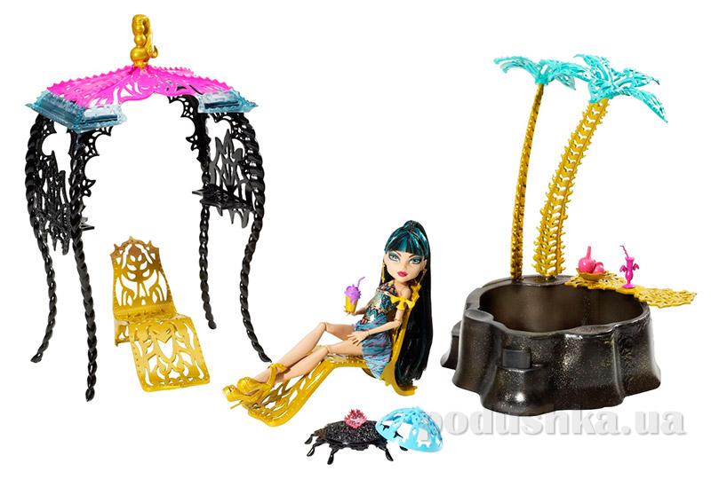 Набор Monster High Оазис пустыни Страхов и Клео де Нил Cleo De Nile Y7716 Mattel