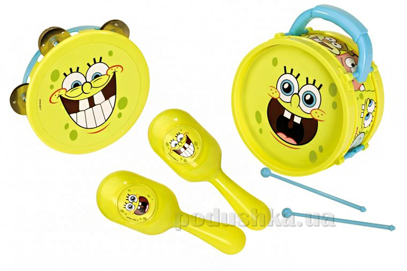 Набор музыкальных инструментов Оркестр Sponge Bob Simba 949 8551