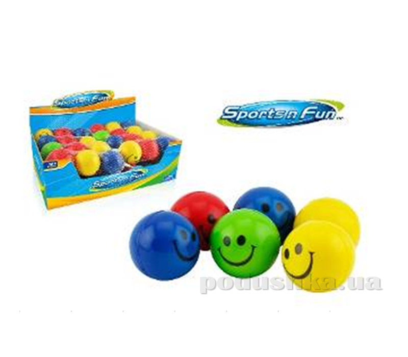 Набор мячиков Sport fun Смайлик