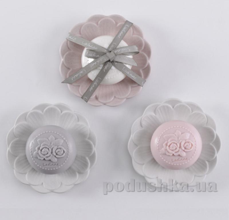 Набор мыльница + мыло Ladinne Daisy Ecru-Blush 900181