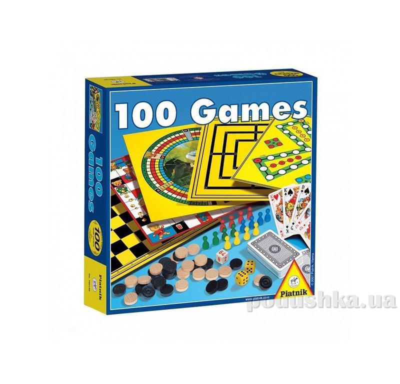 Набор настольных игр 100 в 1