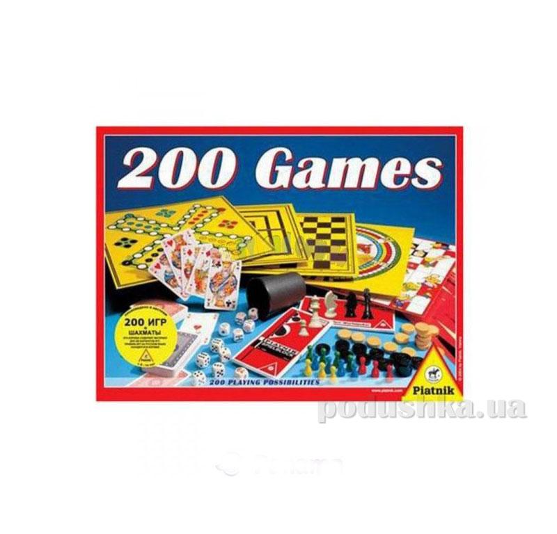 Набор настольных игр 200 в 1 + шахматы