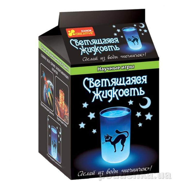 Набор Научные игры Ranok Creative Светящаяся жидкость 12123003Р,0388