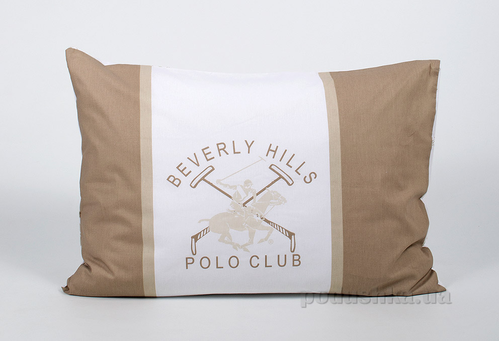 Набір наволочок Beverly Hills Polo Club BHPC ранфорс 024 Cream