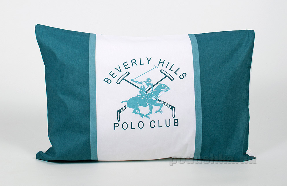 Набор наволочек Beverly Hills Polo Club BHPC ранфорс 024 Green