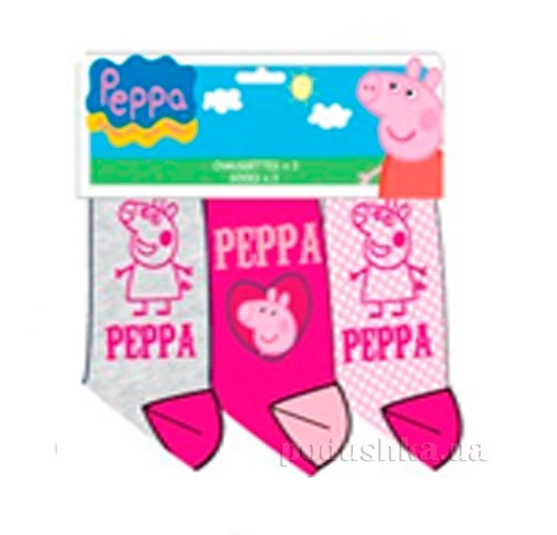 Набор носков для девочек Пеппа E-Pulse