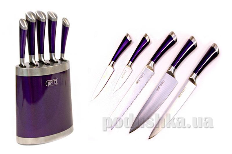 Набор ножей Baron 6 предметов Gipfel 6666