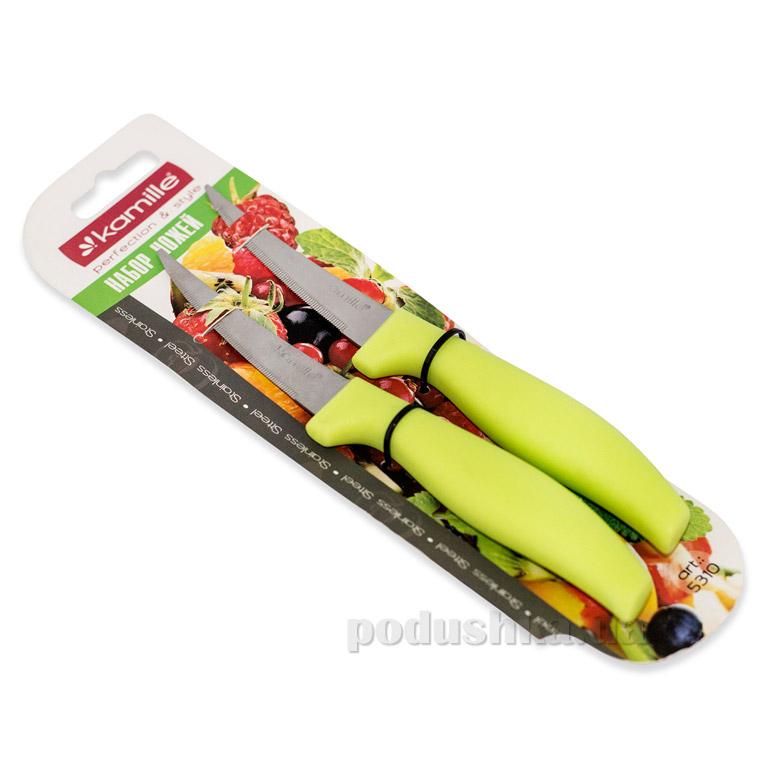 Набор ножей Kamille 5310 с пластиковыми ручками