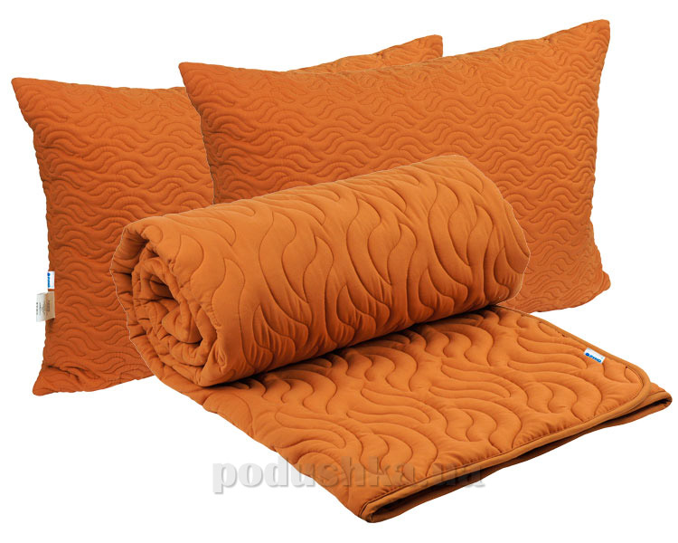 Набор одеяло демисезонное и две подушки Руно Fire