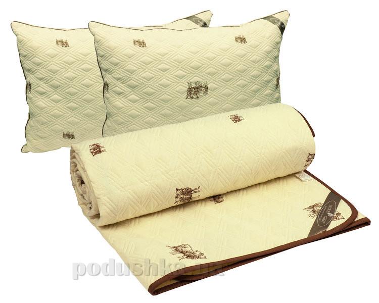 Набор одеяло демисезонное и две подушки Руно Sheep