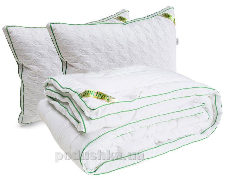 Набор одеяло демисезонное и две подушки Руно Spring