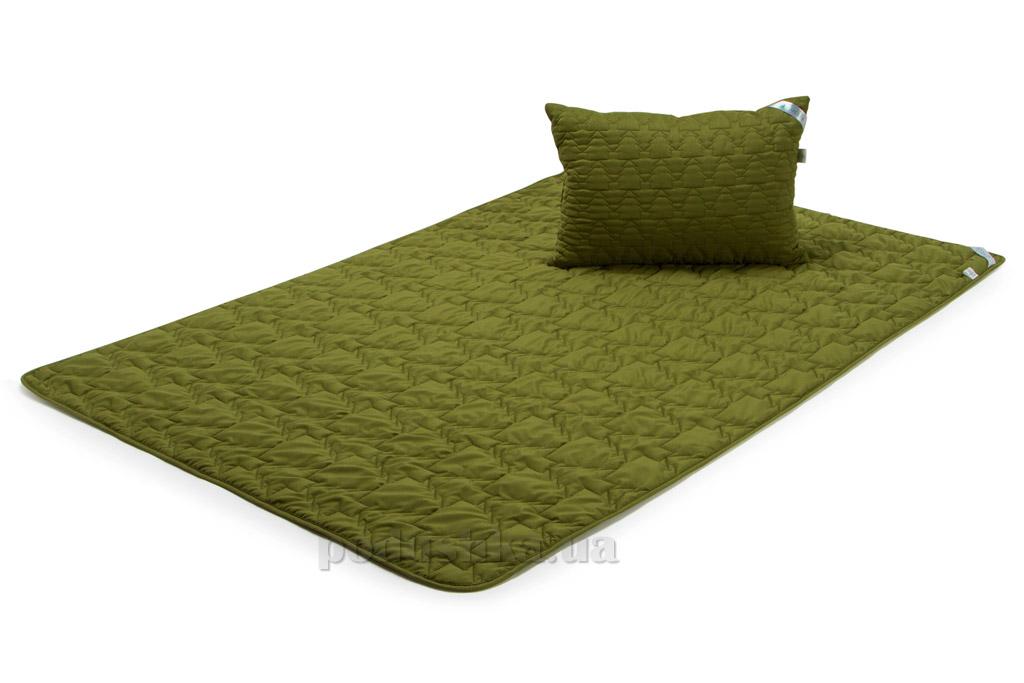 Набор одеяло демисезонное и подушка Руно Green