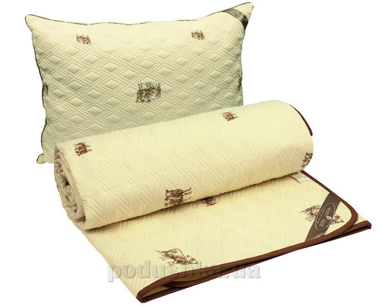 Набор одеяло демисезонное и подушка Руно Sheep