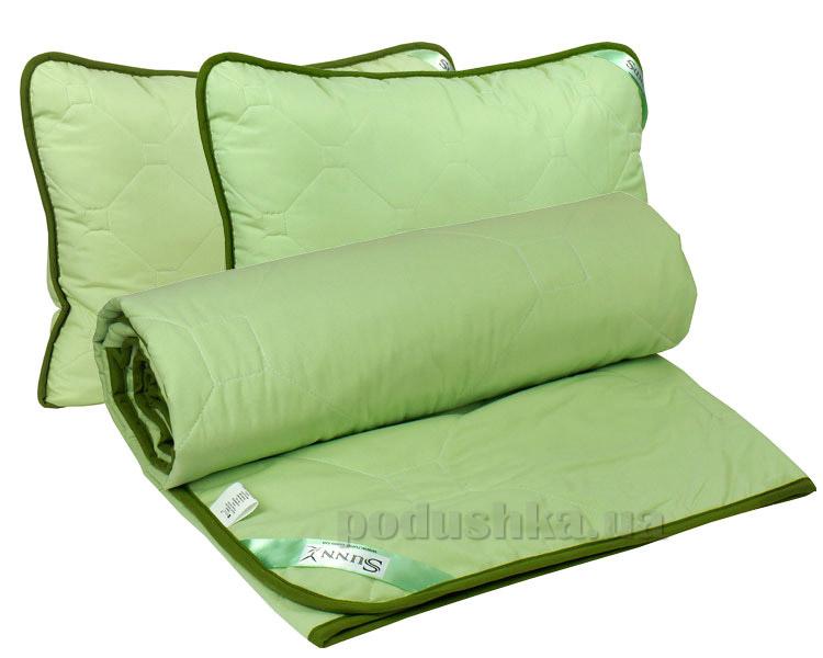Набор одеяло летнее и две подушки Руно Sunny