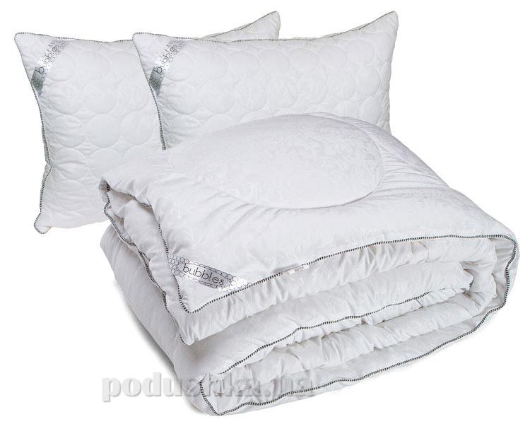 Набор одеяло зимнее и две подушки Руно Шары