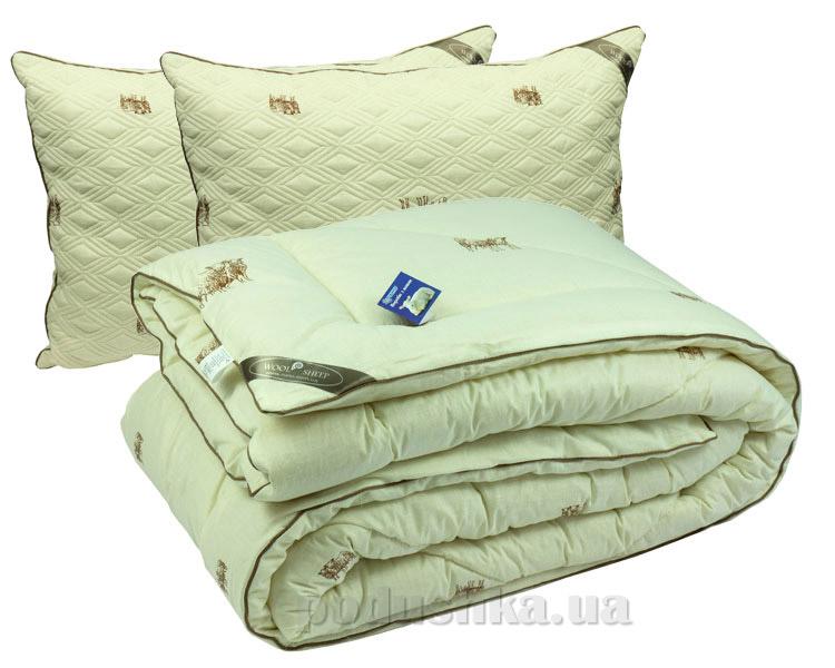 Набор одеяло зимнее и две подушки Руно Sheep