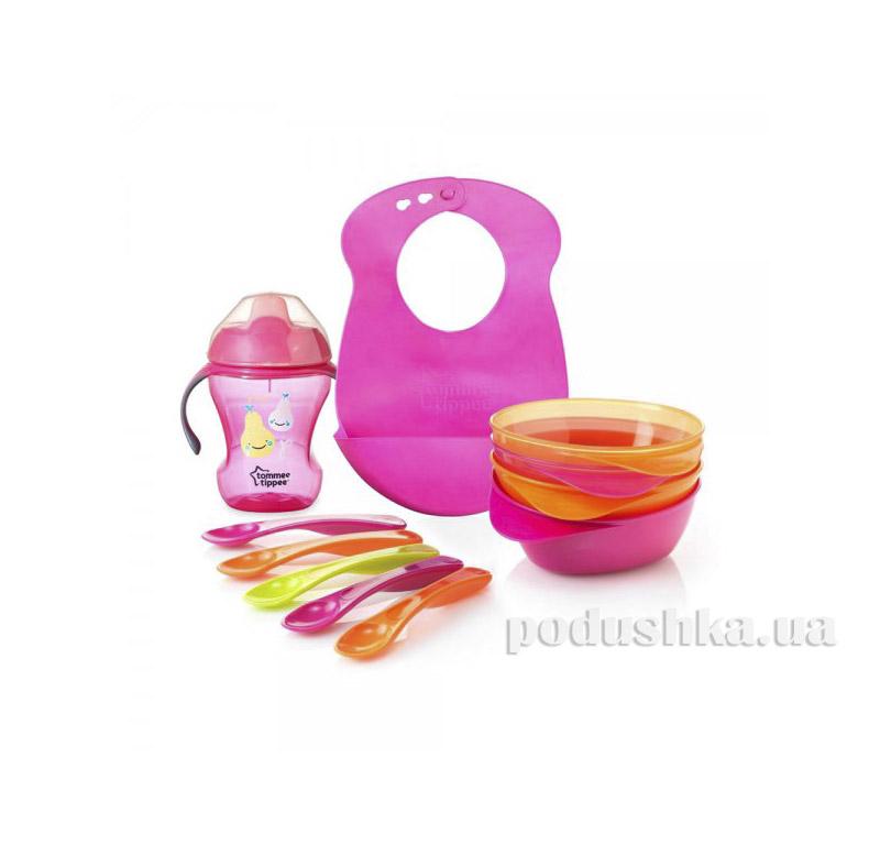 Набор первой посуды Tommee Tippee Розовы 44673691