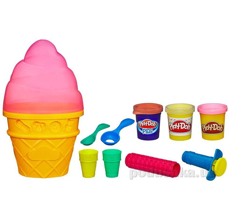 Набор пластилина Контейнер с мороженым AKT-A2743