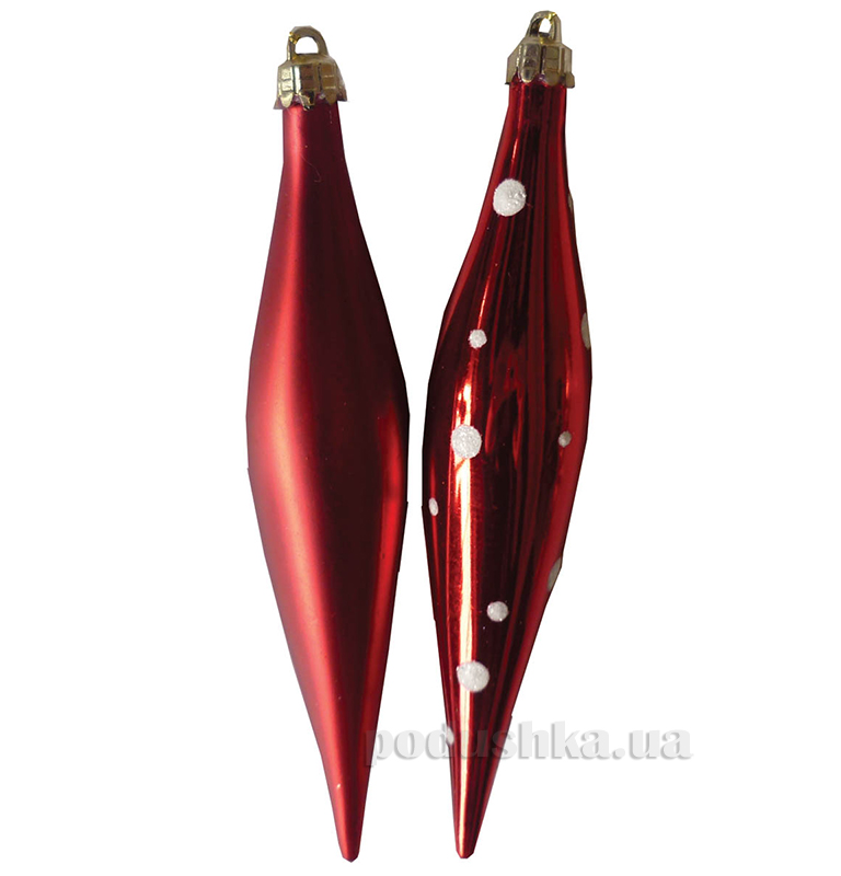 Набор подвесок Сосулька красная Новогодько 971790
