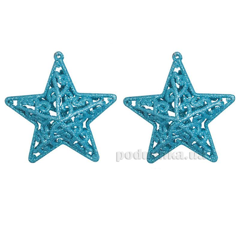 Набор подвесок Звездочка голубая 972019