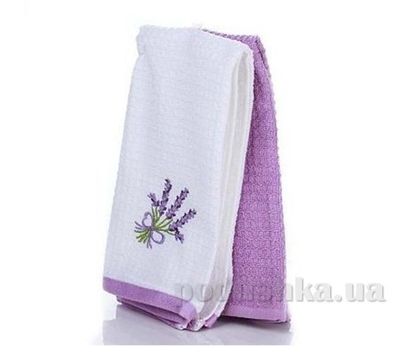 Набор полотенец для кухни Home line Лаванда бело-фиолетовый