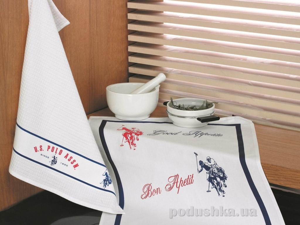 Набор полотенец для кухни U.S. Polo Assn Berkeley 50х70 см - 2 шт U. S. Polo Assn