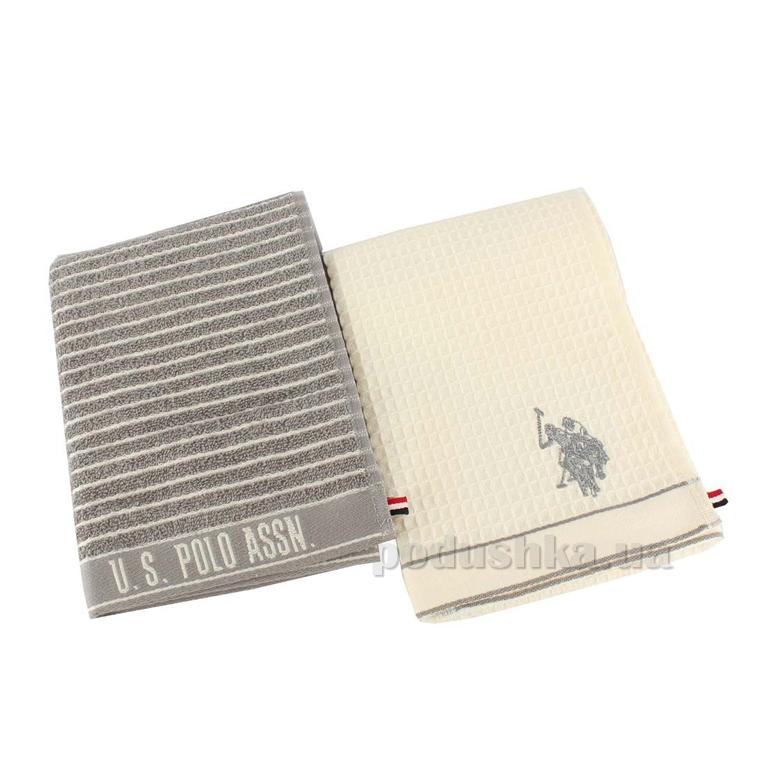Набор полотенец для кухни U.S. Polo Assn Sturgis серый