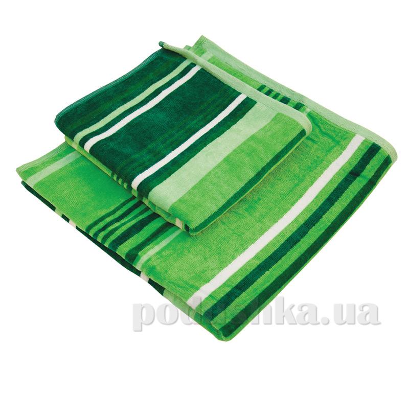 Набор полотенец махровых Ярослав nr velour зеленые
