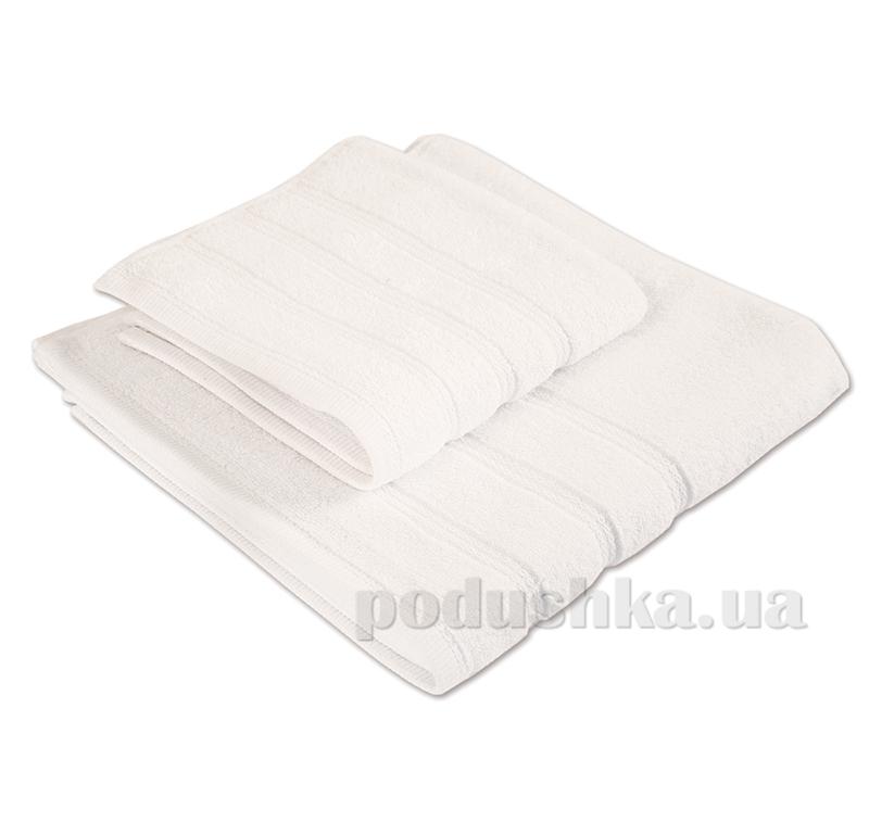 Набор полотенец махровых Ярослав ствист белый
