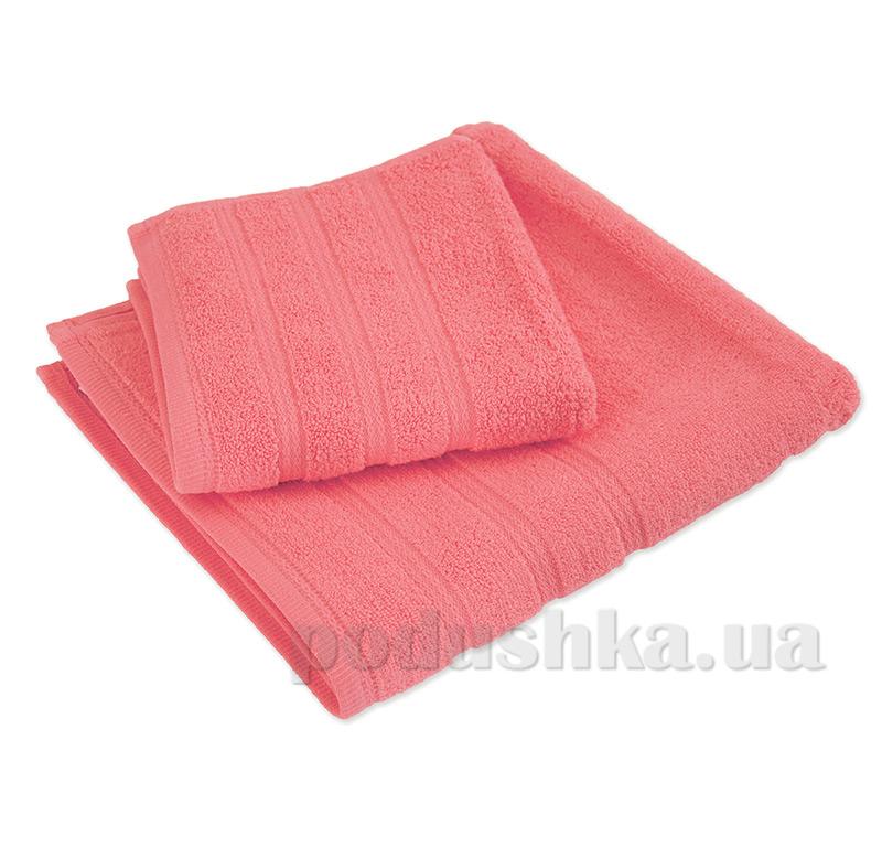 Набор полотенец махровых Ярослав ствист розовый