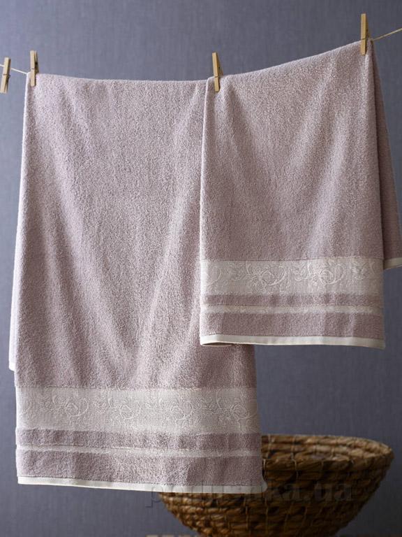 Набор полотенец Pavia Amelie purple фиолетовый - 2 шт