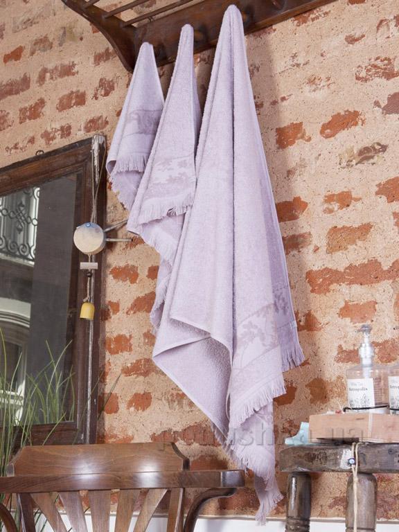 Набор полотенец Pavia Glen purple фиолетовый - 2 шт