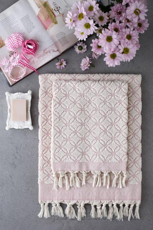 Набор полотенец Pavia Juno powder розовый
