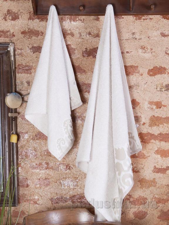 Набор полотенец Pavia Lucas cream кремовый