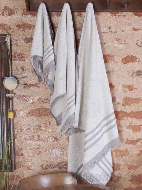 Набор полотенец Pavia Pierre grey серый