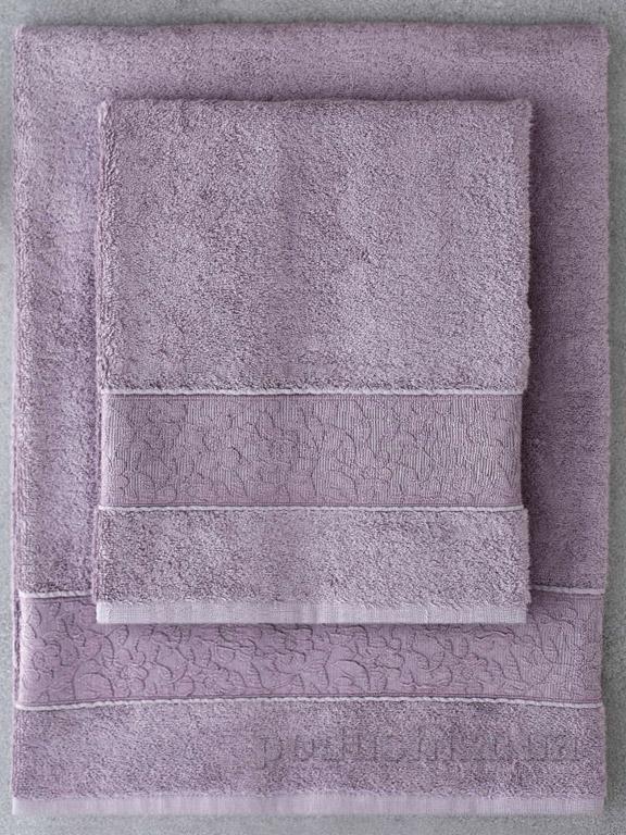 Набор полотенец Pavia Solid Dark Lila тёмно-фиолетовый - 2 шт